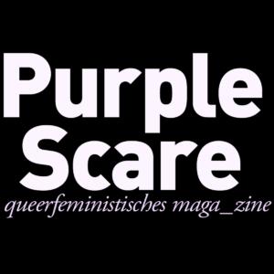 Purple Scare logo